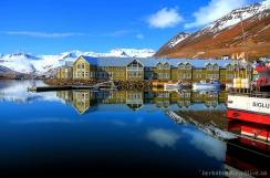 Siglufjordur, Iceland morning
